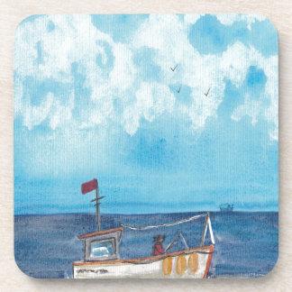 Porta-copos Barco de pesca