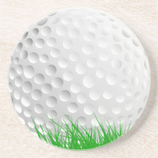Porta-copos Bola de golfe na grama