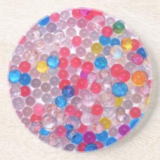 Porta-copos bolas da água do colore