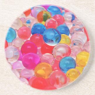Porta-copos bolas da geléia da textura
