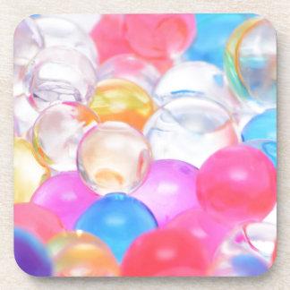 Porta Copos bolas transparentes
