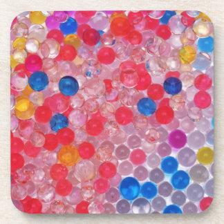 Porta Copos bolas transparentes da água