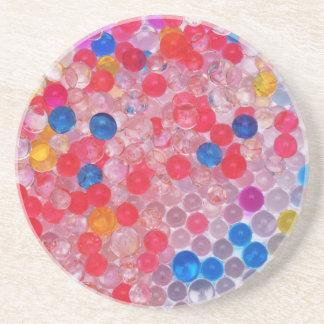 Porta-copos bolas transparentes da água