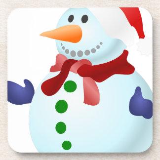 Porta Copos Boneco de neve decorado