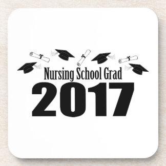 Porta Copos Bonés do formando 2017 da escola de cuidados e