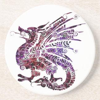 Porta copos bonita do arenito do dragão