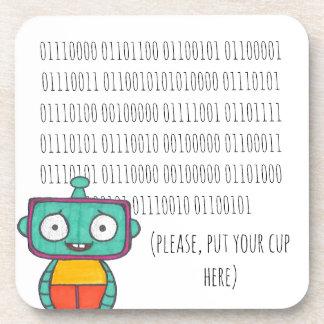 Porta copos bonito do robô