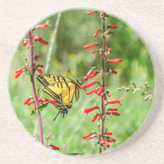 Porta-copos Borboleta e Wildflowers de Swallowtail do tigre