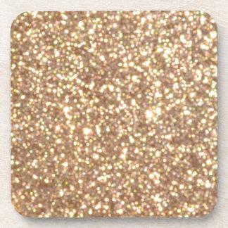 Porta-copos Brilho metálico do ouro cor-de-rosa do cobre