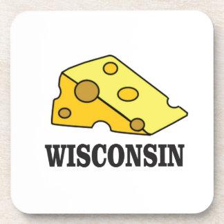 Porta Copos Cabeça do queijo de Wisconsin