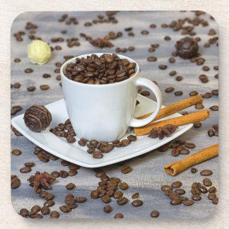 Porta-copos Café e especiarias