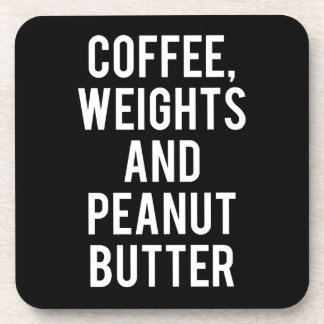 Porta Copos Café, pesos e manteiga de amendoim - novidade