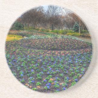 Porta-copos Cama de flor do arboreto de Dallas e dos jardins