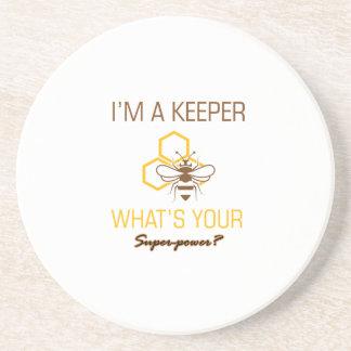 Porta-copos Camiseta do depositário da abelha