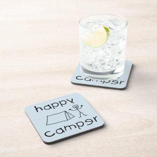 Porta-copos Campista feliz (preto)