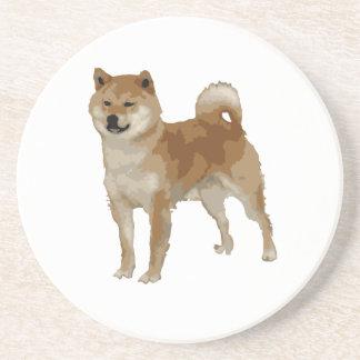 Porta-copos Cão de Shiba Inu
