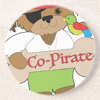 Porta-copos Cão do Co-Pirata