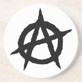Porta-copos Caos do sinal da cultura da música do punk do