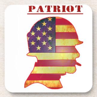 Porta Copos Capacete patriótico das forças armadas da bandeira