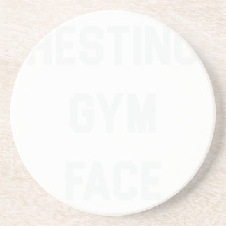 Porta-copos Cara de descanso do Gym