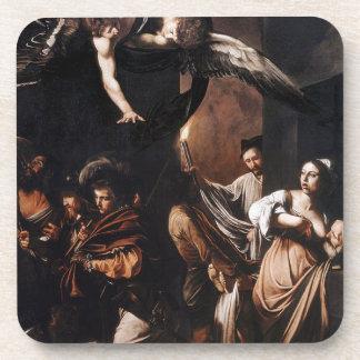 Porta Copos Caravaggio - os sete trabalhos da pintura do