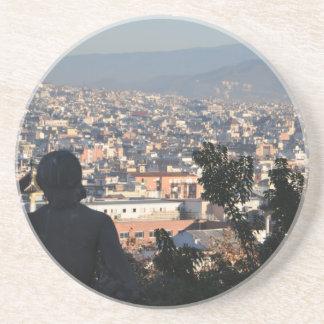 Porta-copos Cartão de Barcelona