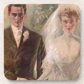 Porta Copos Casamento 1906 de Edwardian