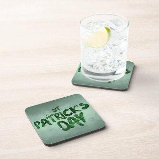 Porta-copos Céltico verde do irlandês do trevo do Dia de São