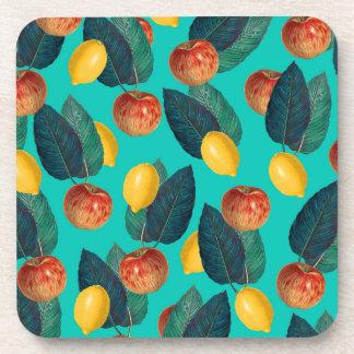 Porta-copos cerceta das maçãs e dos limões