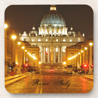 Porta-copos Cidade do Vaticano, Roma, Italia na noite