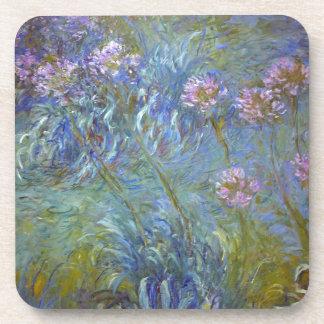Porta Copos Claude Monet - pintura clássica das flores do