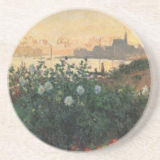 Porta-copos Claude Monet - Riverbank florescido Argenteuil