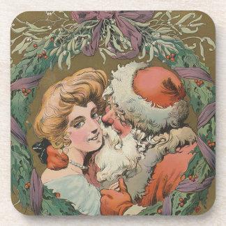 Porta-copos Cobrir 1905 do disco do papai noel