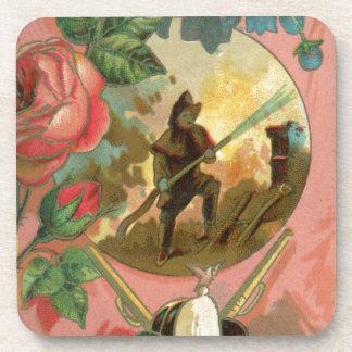 Porta-copos Cobrir do sapador-bombeiro do bombeiro dos 1880's