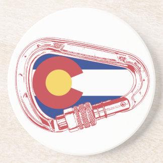 Porta-copos Colorado que escala Carabiner