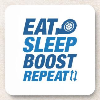 Porta-copos Coma a repetição do impulso do sono