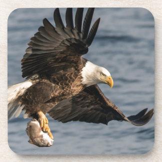 Porta Copos Comida de travamento da águia americana