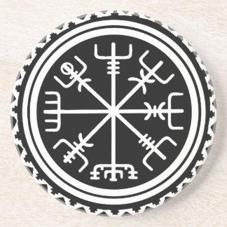 Porta-copos Compasso de Viking Vegvisir