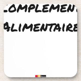 Porta Copos COMPLEMENTO ALIMENTAR - Jogos de palavras