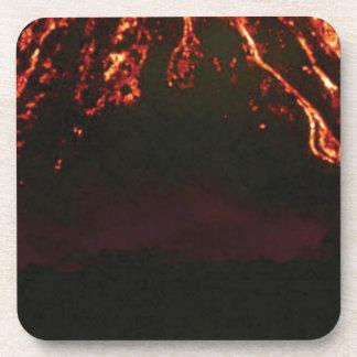 Porta Copos cone vulcânico nivelado