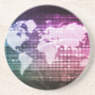 Porta-copos Conexão de rede global e sistema integrado