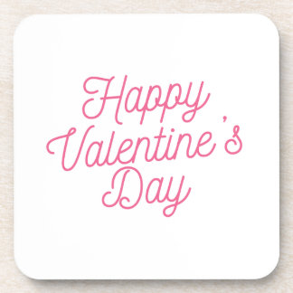 Porta copos cor-de-rosa do feliz dia dos namorados