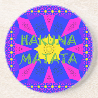 Porta-copos Cores surpreendentes bonitas do design de Hakuna