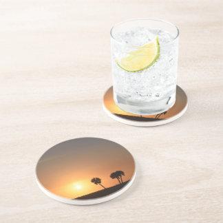 Porta-copos Costa da bebida do arenito com uma imagem do por