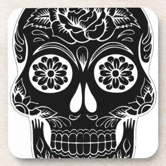 Porta-copos Crânio abstrato