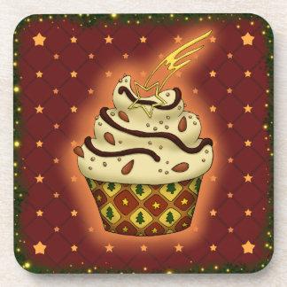 Porta Copos Cupcake delicada com amêndoas, chocolate
