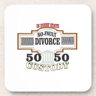 Porta-copos custódia 50 50 no casamento