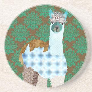 Porta copos da arte da alpaca