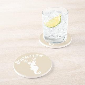 Porta copos da bebida do arenito de Buckfish