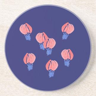 Porta copos da bebida do arenito dos balões de ar